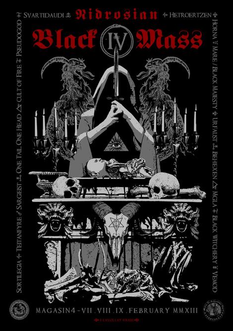 Nidrosian Black Mass IV | Fabrice Lavollay